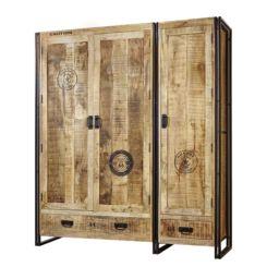 Kleiderschrank holz modern  Massivholzschränke | Natürlich: Schränke aus Massivholz | home24