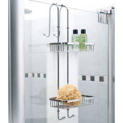Portasapone da doccia raccordi tubi innocenti - Portasapone doccia senza forare ...