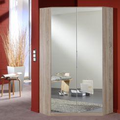 eckkleiderschrank mit spiegel bestseller shop f r m bel. Black Bedroom Furniture Sets. Home Design Ideas