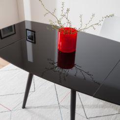 Esstisch glas schwarz  Glastische jetzt versandkostenfrei online bestellen | home24