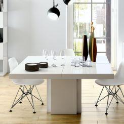 tisch quadratisch wei bestseller shop f r m bel und einrichtungen. Black Bedroom Furniture Sets. Home Design Ideas