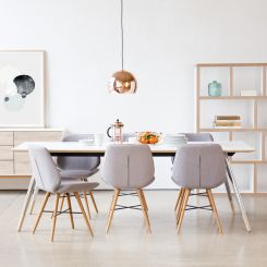 Esszimmer skandinavischer stil  Esszimmermöbel kaufen im skandinavischen Stil - Fashion For Home