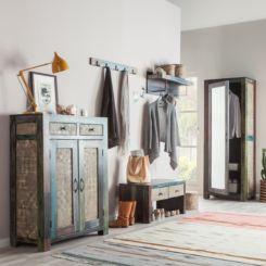 Moderne Garderoben Set garderoben set vintage dekoration ideen