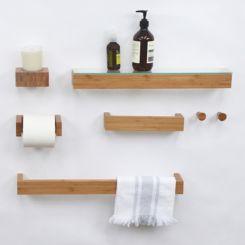 Bad accessoires bambus  Praktische Badaccessoires jetzt online bestellen | Home24