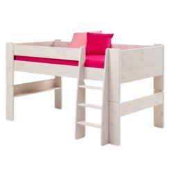Kinderhochbetten | Hochbett mit Treppe online kaufen | Home24 | {Kinderhochbett mit treppe 40}