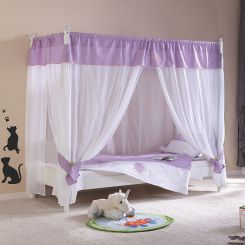 Himmelbett kinderbett prinzessin  Kinder Himmelbetten | Kinderzimmer Bett online kaufen | Home24