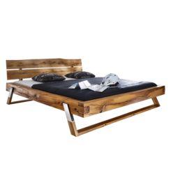 Massivholz bett rustikal  Betten | Kaufe dein Bett fürs Schlafzimmer einfach online | home24