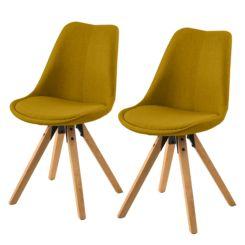chaise aledas ii lot de 2 - Chaise En Bois Salle A Manger