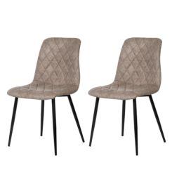 sedie imbottite   eleganti sedie imbottite per sala   home24 - Sedie Soggiorno Imbottite