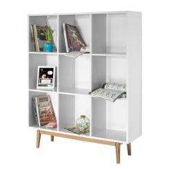 Bücherregal weiß wand  Wohnzimmerregale | Wohnregale & Raumteiler online kaufen | home24
