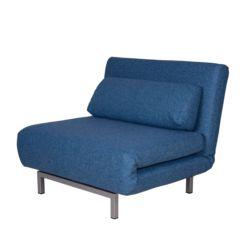 sessel blau m belideen. Black Bedroom Furniture Sets. Home Design Ideas