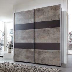 Schwebetürenschrank grau  Schwebetürenschränke | Dein neues Schlafzimmermöbel | Home24