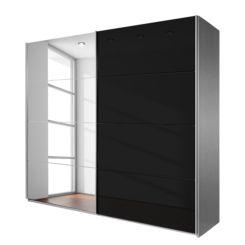 Schwebetürenschrank grau schwarz  Schwebetürenschränke | Dein neues Schlafzimmermöbel | Home24