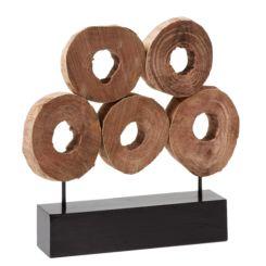 skulptur amba - Moderne Skulpturen Wohnzimmer
