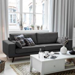 Sofa modern grau  Sofas und Couches | Polstermöbel jetzt online kaufen | Home24