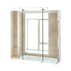 Bad-Spiegelschrank   Spiegelschrank für Bad online kaufen   Home24   {Spiegelschrank bad mit beleuchtung 50}