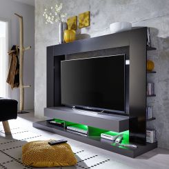 tv wand m belideen. Black Bedroom Furniture Sets. Home Design Ideas