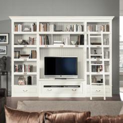 Fernsehwand freistehend  TV-Wände | Film ab auf deiner TV Mediawand | Home24