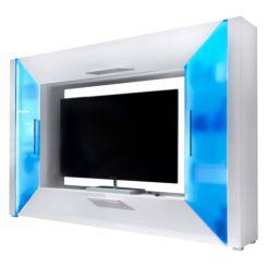 Tv wand weiß hochglanz  TV-Wände | Film ab auf deiner TV Mediawand | Home24