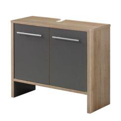 Waschbeckenunterschränke | Badmöbel online kaufen | Home24 | {Waschbeckenunterschrank stehend grau 82}