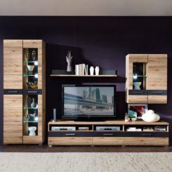 Wohnwand holz dunkel  Wohnwände | Individuelle Schrankwand für deine Räume | Home24