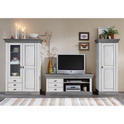 Wohnzimmermöbel weiß grau  Wohnwände   Individuelle Schrankwand für deine Räume   Home24