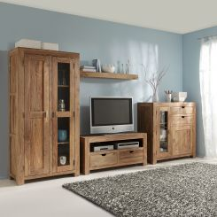 Wohnwand rustikal modern  Wohnwände | Schrankwand & Anbauwand jetzt online kaufen | home24