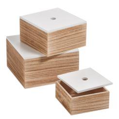 Aufbewahrungsbox Fachi (3 Teilig)