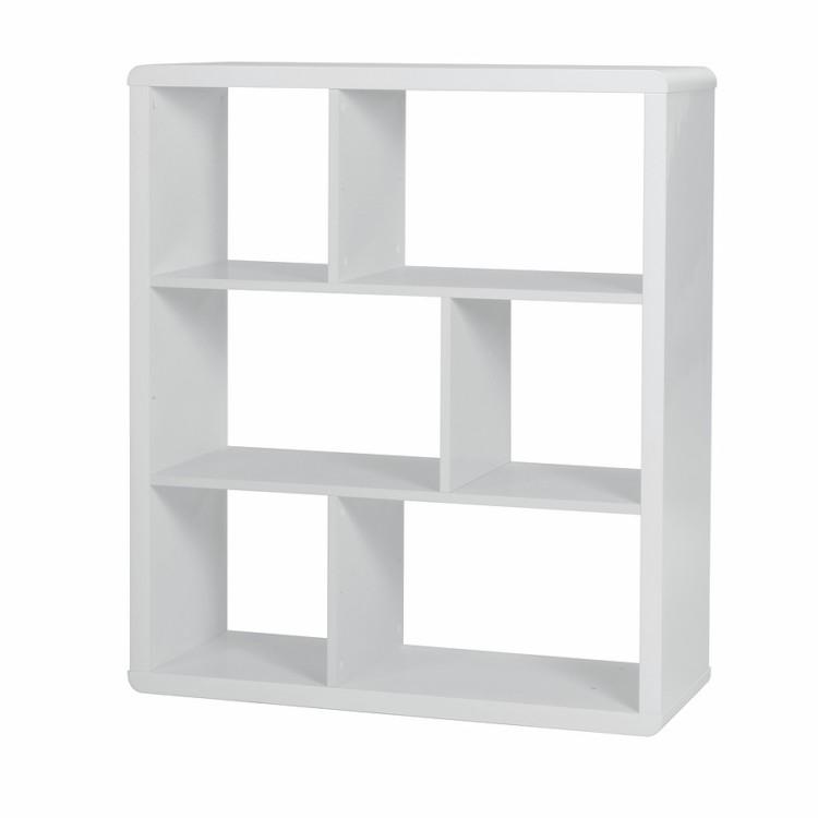 Regal Leonardo klein - Hochglanz Weiß | Home24
