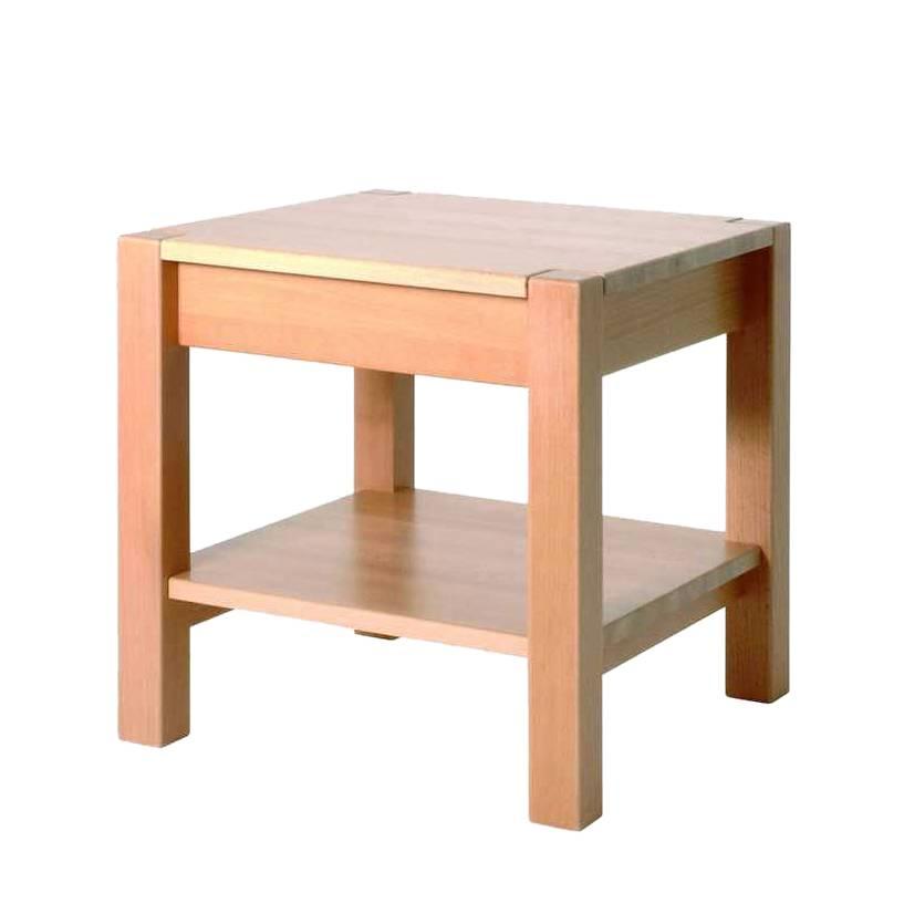 beistelltisch mit schublade. Black Bedroom Furniture Sets. Home Design Ideas