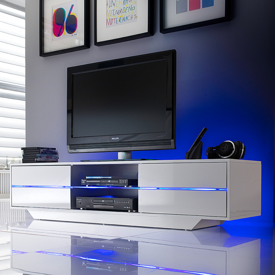 tv lowboard mit led beleuchtung. Black Bedroom Furniture Sets. Home Design Ideas