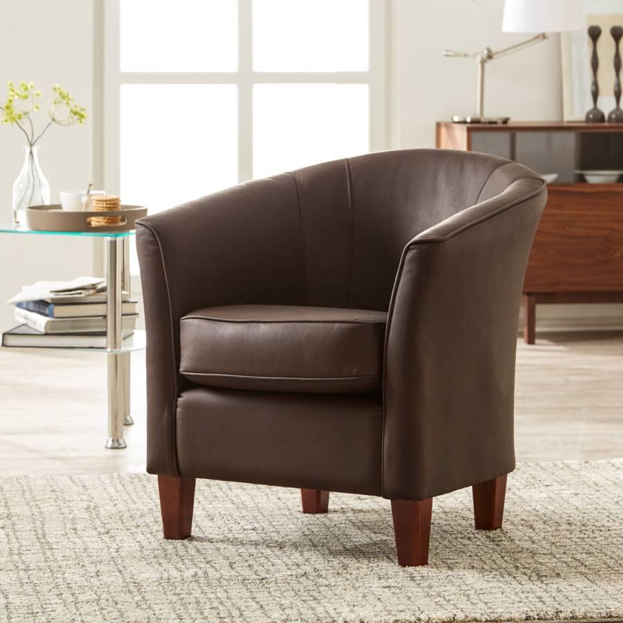 cocktailsessel chester braun. Black Bedroom Furniture Sets. Home Design Ideas