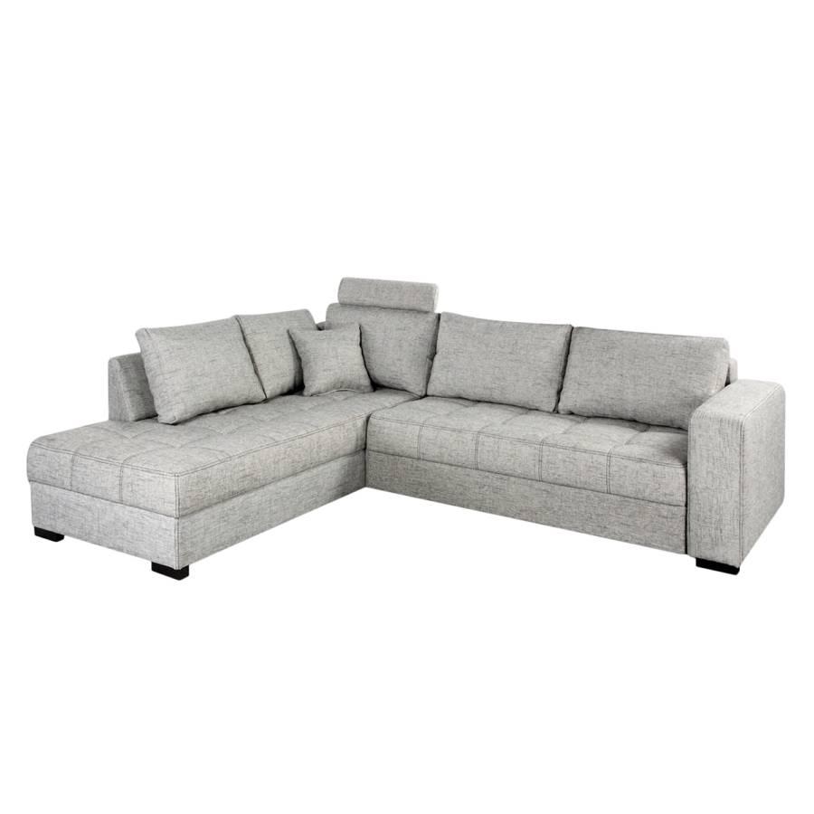 Ecksofa hellgrau Home Design Sofa mit Schlaffunktion – für ein modernes Heim | Home24