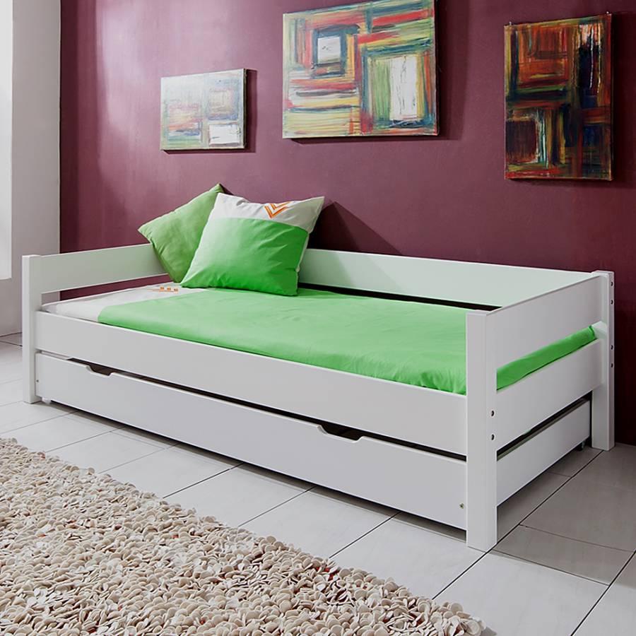 Einzelbett mit bettkasten for Komfortbett 100x200