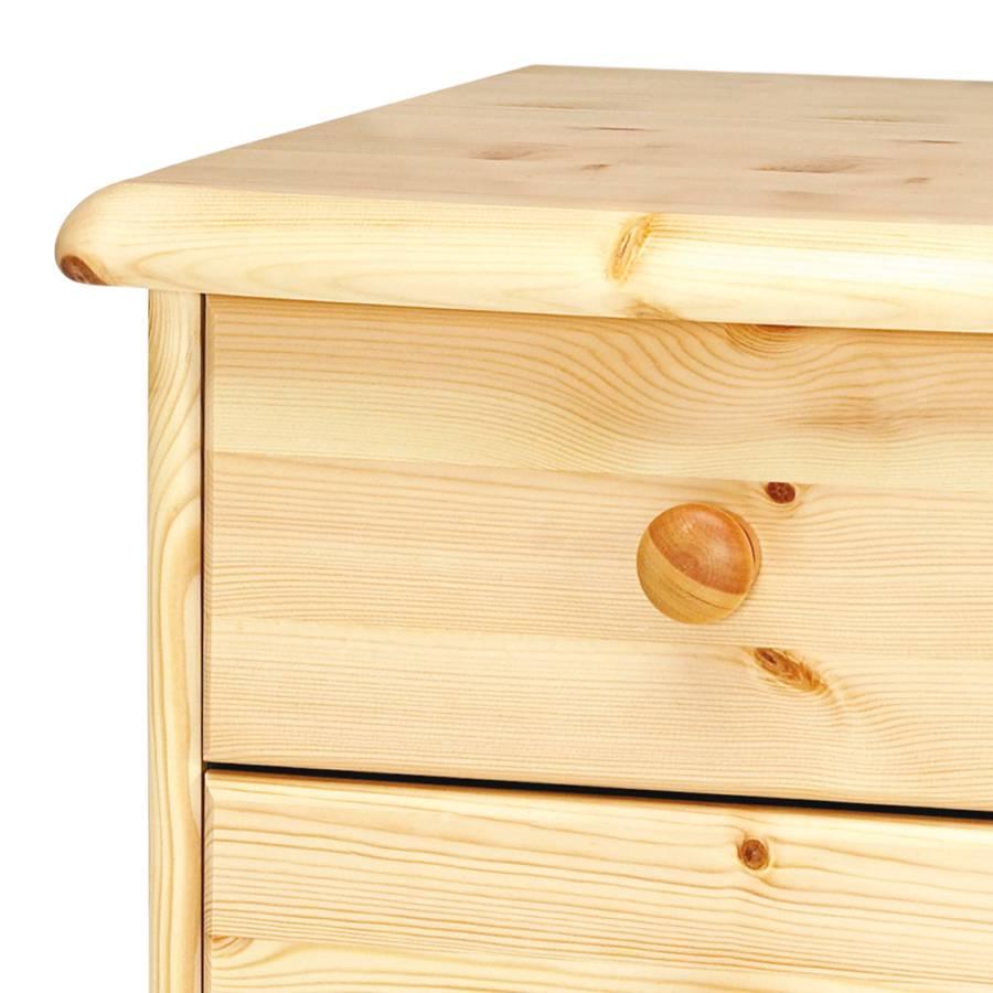 nachttisch kiefer natur latest nachttisch mit schubladen massivholz kiefer natur with. Black Bedroom Furniture Sets. Home Design Ideas