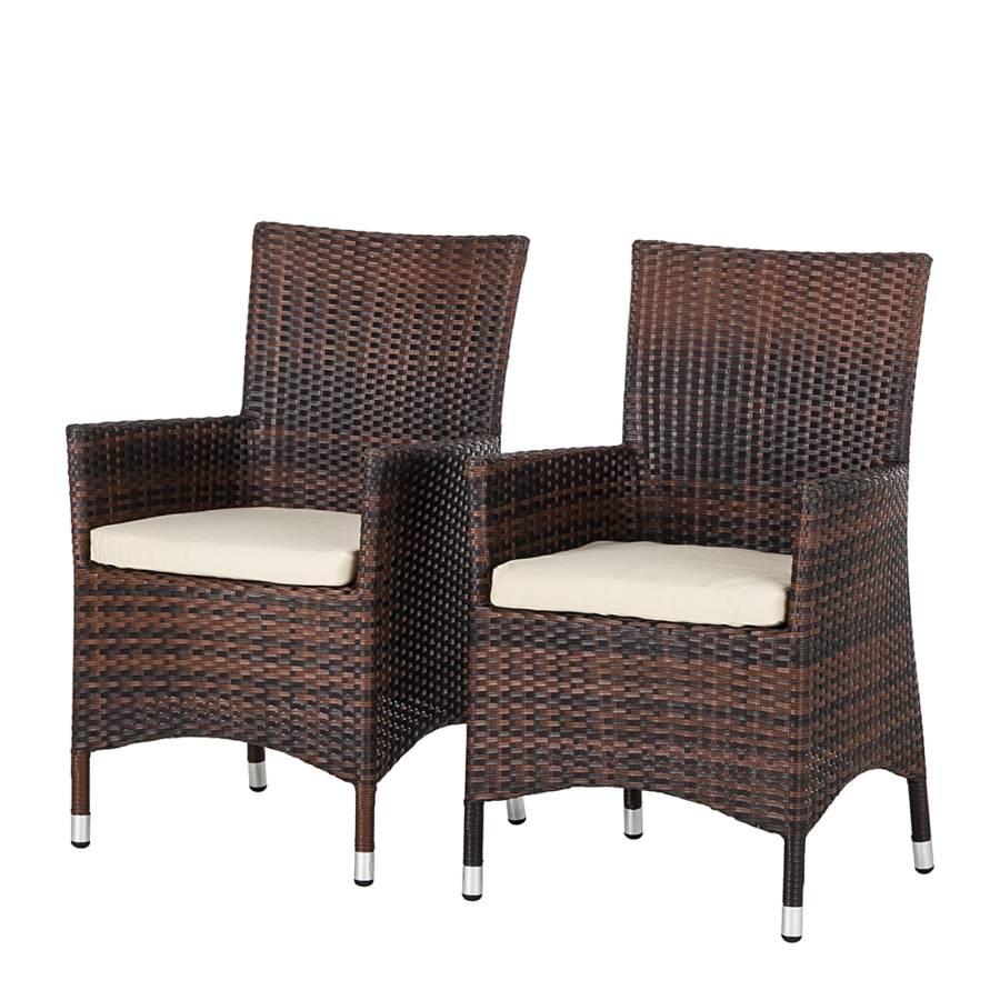 Gartenstühle rattan braun  Deinen Garten günstig und schick mit Gartenstühlen von Maison ...