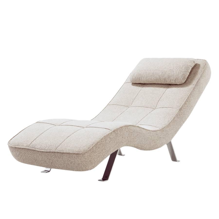 Relaxliege Wohnzimmer Grau Long Island Webstoff Fashion For Home