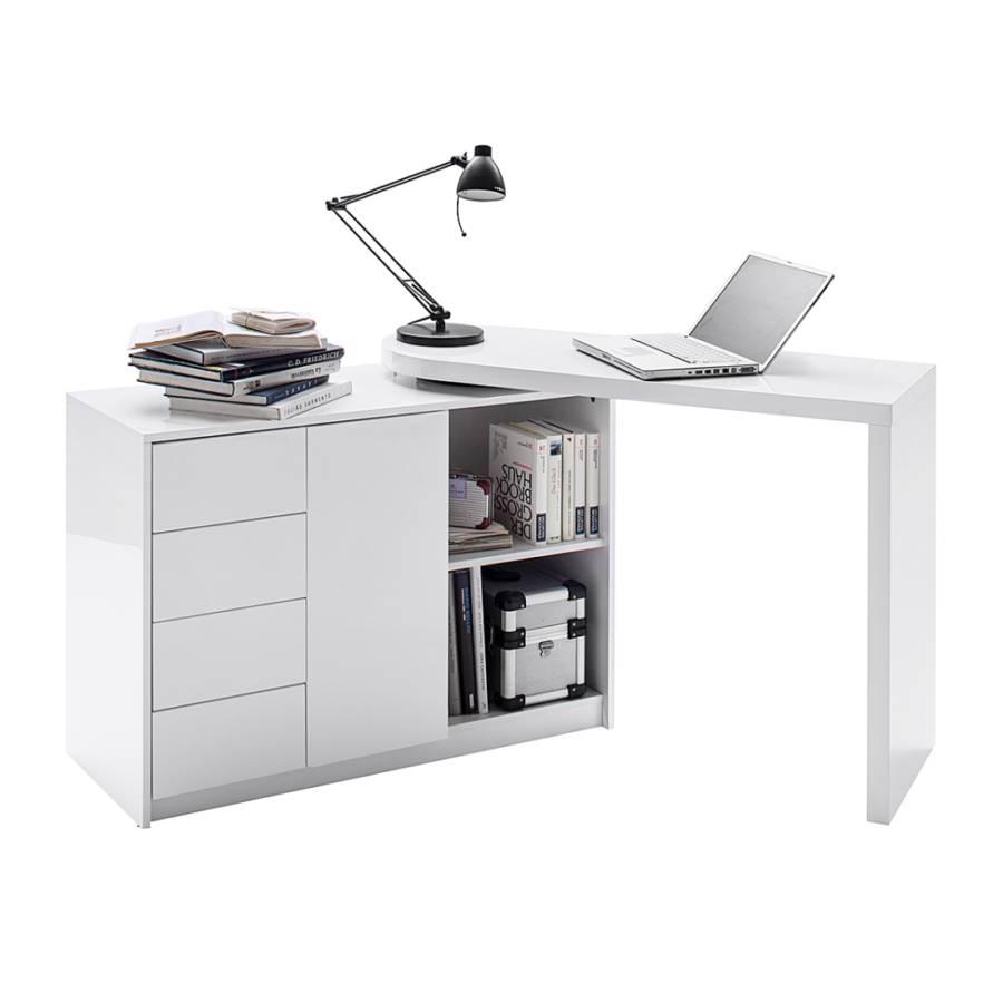 Büro eckschreibtisch weiß  home24office Bürotisch – für ein modernes Heim | home24