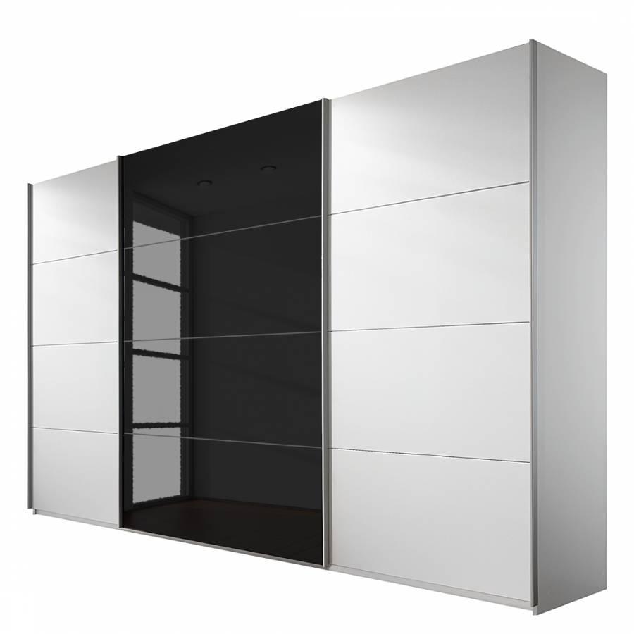 rauch schwebet renschrank eiche sonoma nachbildung 2 t rig glas absetzung wei bxhxt. Black Bedroom Furniture Sets. Home Design Ideas