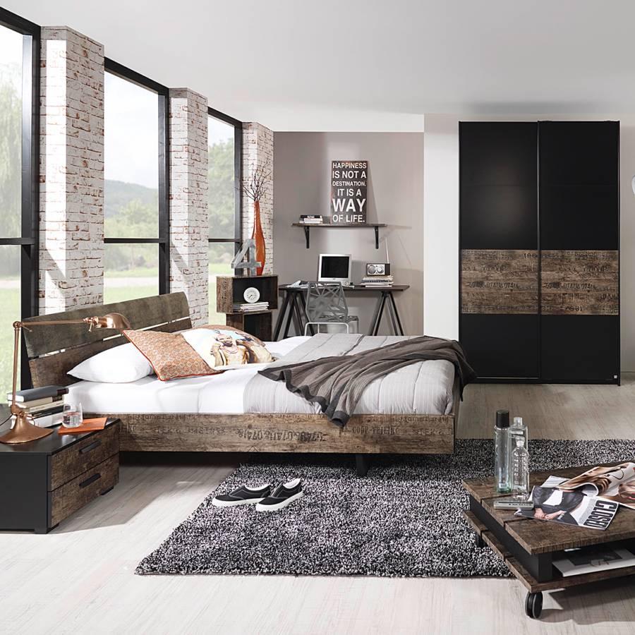 Schwebetürenschrank schwarz braun  Schwebetürenschrank von Rauch Select bei Home24 bestellen | Home24