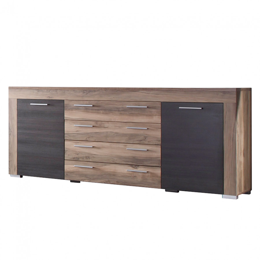 Sideboard nussbaum satin  Jetzt bei Home24: Sideboard von California | Home24