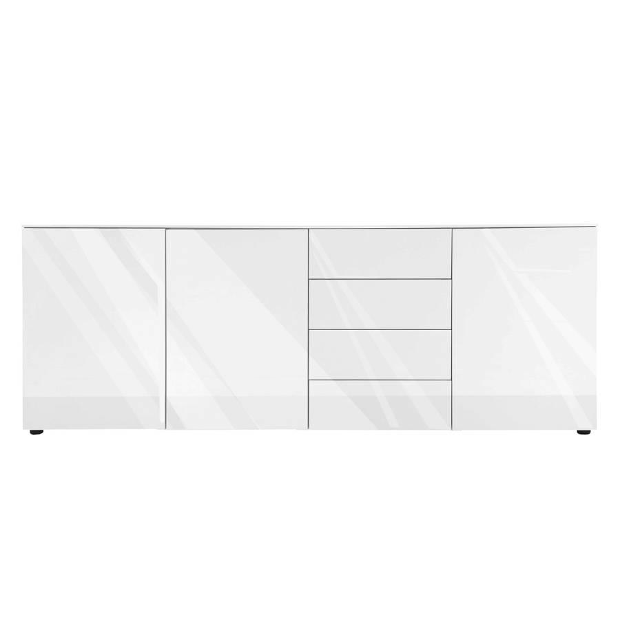 Sideboard Bianco - Hochglanz Weiß - Fashion For Home