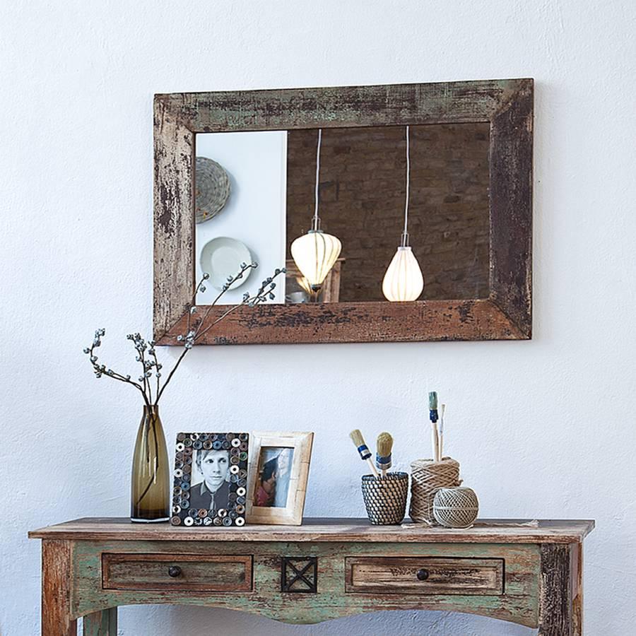 spiegel holz interesting spiegel holz deko unikat tr tor in trendelburg with spiegel holz. Black Bedroom Furniture Sets. Home Design Ideas