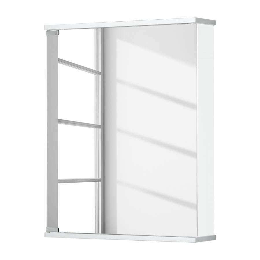 armadietto a specchio da bagno entro (con illuminazione)   home24