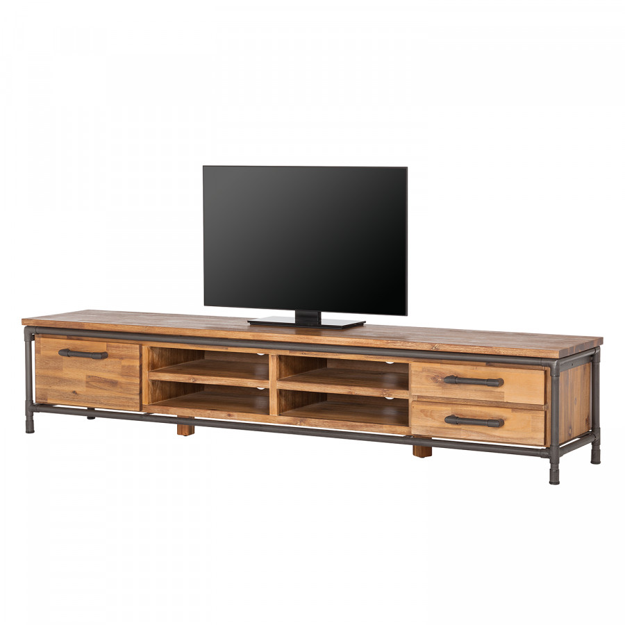 Tv Lowboard Holz Metall
