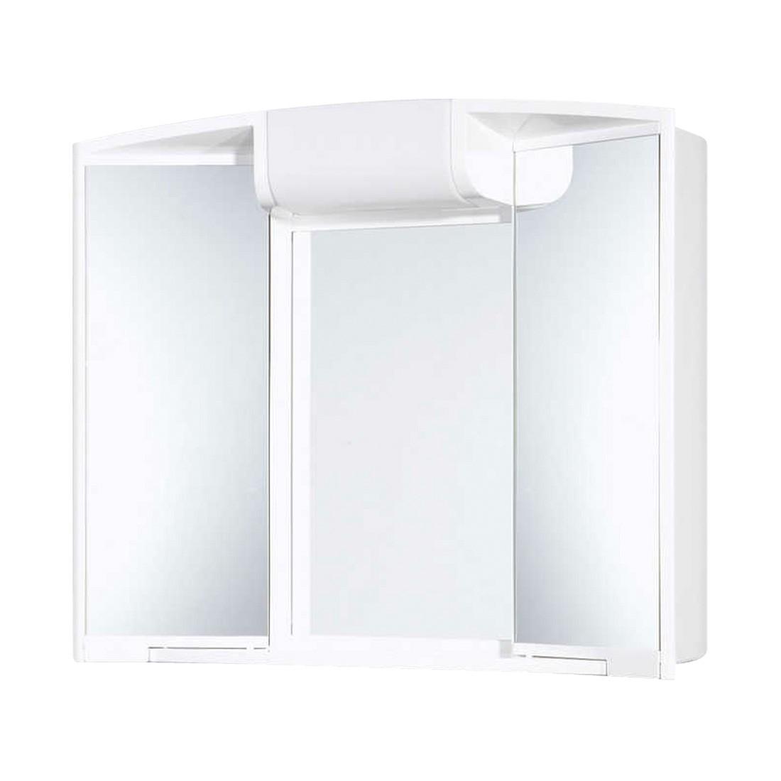 energia A+, Armadietto con specchio Angy (incl. presa di corrente) - Con illuminazione, Jokey
