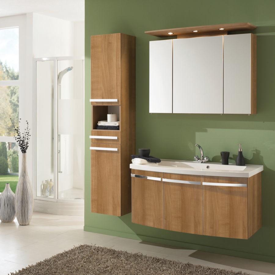 Wasplaats Bino - 3-delige set walnoot, Aqua Suite