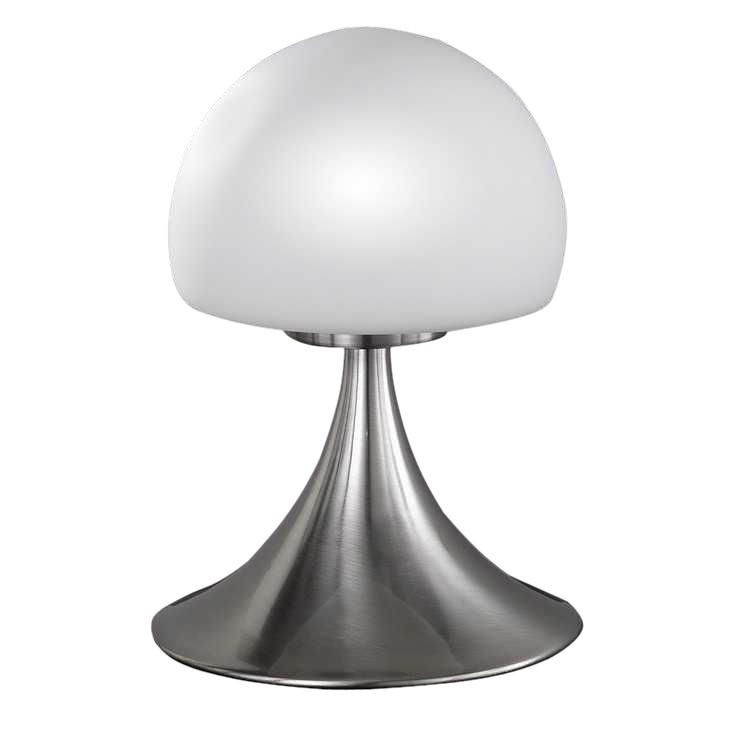 energie  B, Tafellamp Barney - 1 lichtbron - mat nikkel, Action