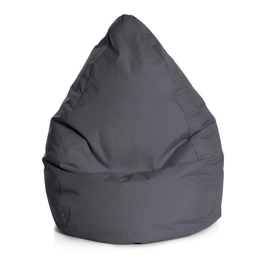 Beanbag Brava - L - Flachgewebe - Anthrazit, SITTING POINT