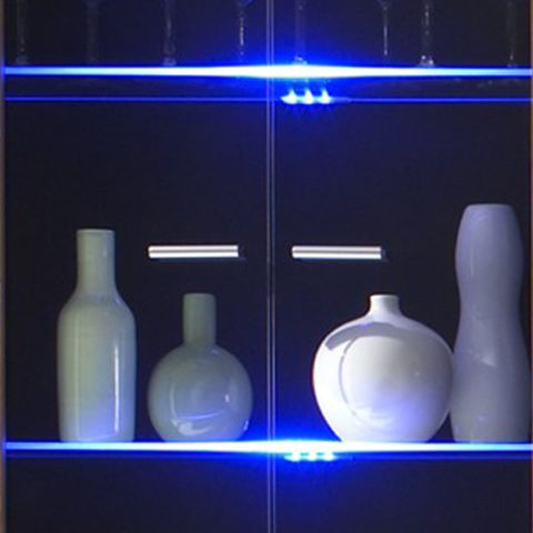 energie  A+, LED-verlichting LEDream - blauw metaal glas, California